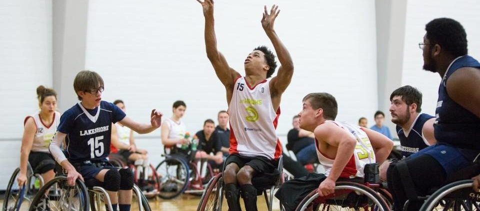 At Wheelchair Basketball Tourney Fierce Game Faces Cant Hide The Exuberance Of Play