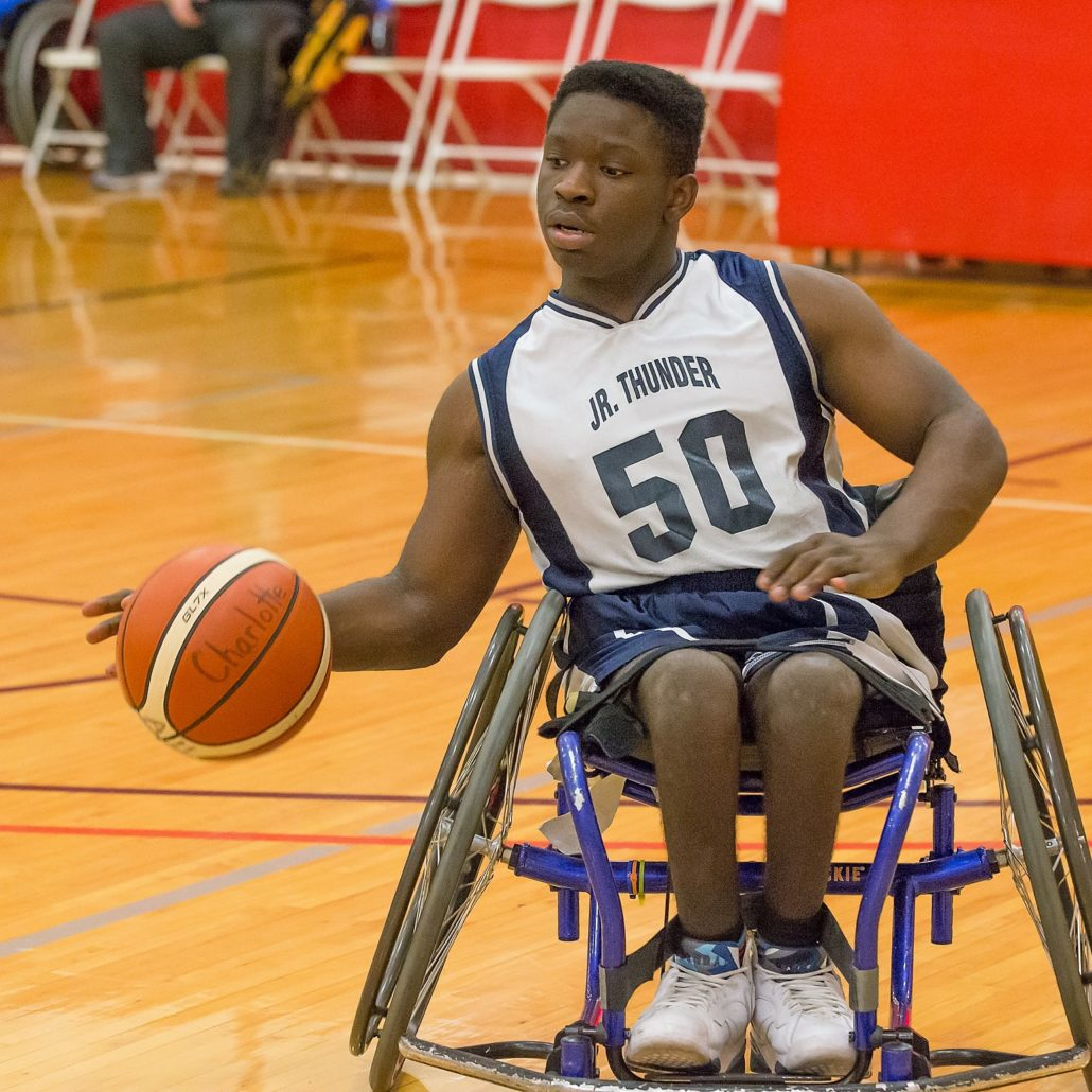 Sports: Wheelchair Basketball- BRIDGE II SPORTS PRIDE