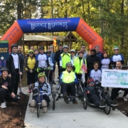 Group picture at Cycling Saturday October 19, 2019