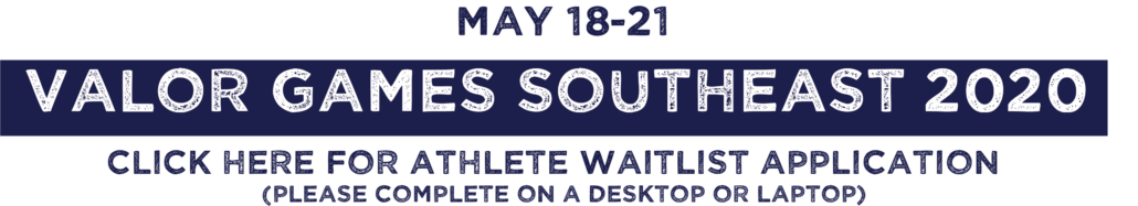 Valor Games Southeast 2020 Clich here for waitlist application (Please complete on desktop or laptop)