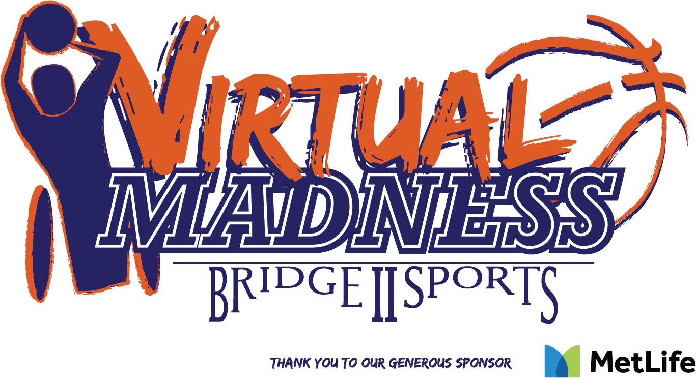 Virtual Madness logo. thank you to our generous sponsor MetLife (with MetLife logo)